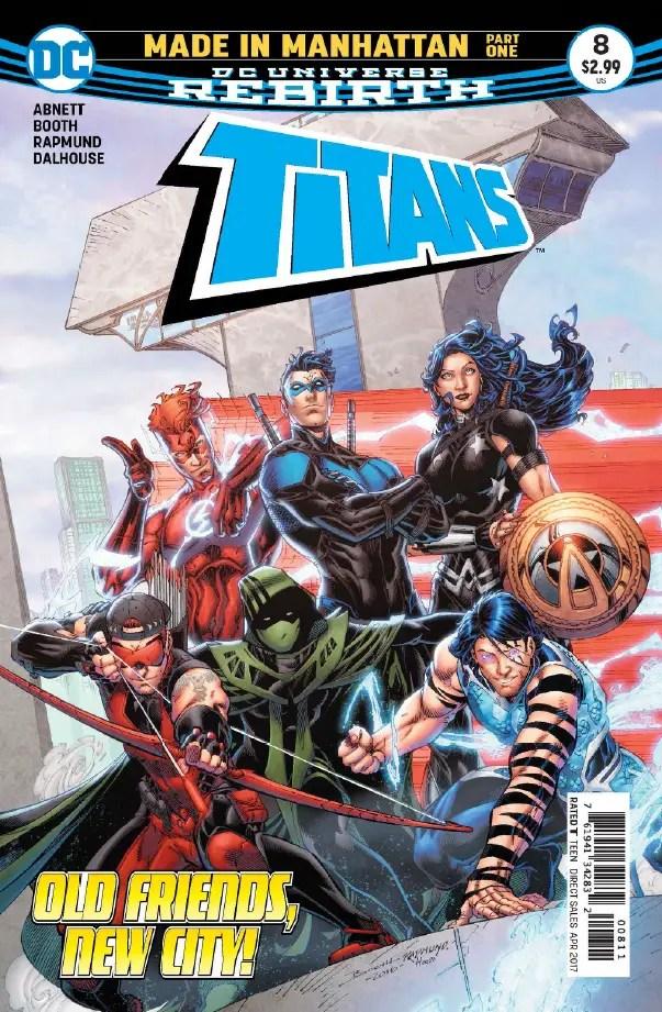 Titans #8 Review