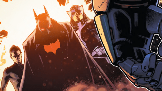 The time to strike is now as Batman, his son, and Huntress must take on a threat that could end all the Wonders as we know it. Yes it's Earth 2 characters, but dammit this story has been riveting. We check out issue #21 to answer the question, is it good?