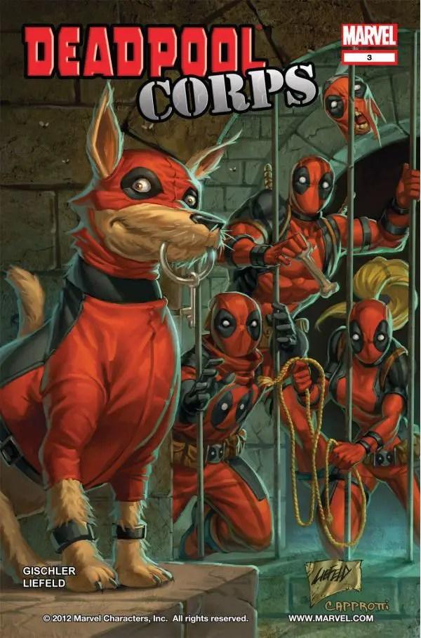 Deadpool Classic Volume 12: Deadpool Corps Review