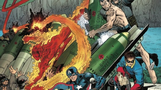 If Captain America has been an agent of Hydra since childhood, how did he fight WWII on the side of the Allies? The secret, untold story is revealed here!