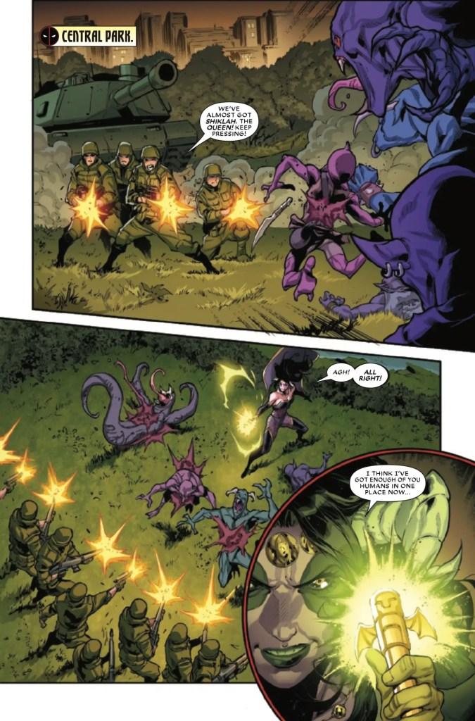 Marvel Preview: Deadpool & The Mercs For Money #9