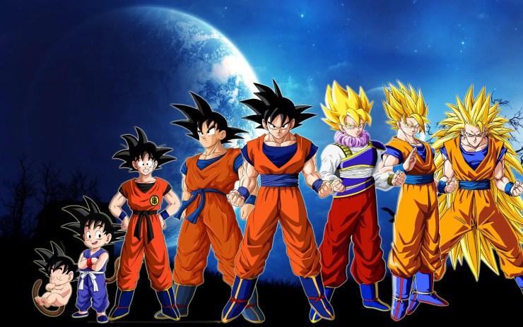 Goku_Transformations