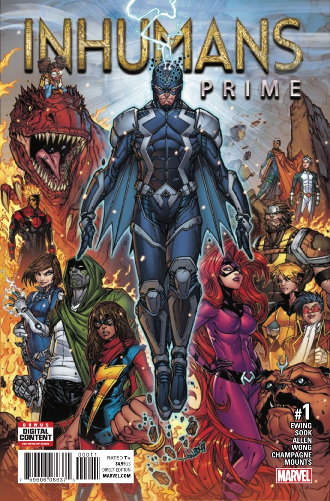 Inhumans Prime #1 Review