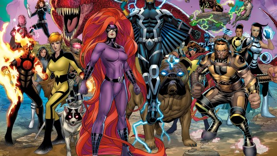 Their throne shattered by the events of Inhumans vs. X-Men, times are changing for the Inhumans. And the ResurrXion begins for this strange super race this March in INHUMANS PRIME #1! Setting the stage for a bevy of can't-miss new series – Royals, Secret Warriors, and Black Bolt – this one-shot asks the question: is there a future for the Inhuman race? Incoming Royals writer Al Ewing is joined by fan-favorite artist Ryan Sook and rising star Chris Allen to bring readers the next blockbuster chapter of Inhumanity! Witness…the trial of Maximus! The prophecy of Marvel Boy! The rise of a new leader! And more! Plus, what dark secret is Black Bolt hiding that could shatter the Inhumans once and for all? Be there for this special issue that bridges the past of the Inhumans...and their future. Both here on Earth, and in the depths of space! Don't miss the kickoff to the next stage of Inhuman evolution in INHUMANS PRIME #1 – available March 29th!