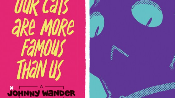 In 2008, Ananth Hirsh and Yuko Ota launched the auto-bio webcomic Johnny Wander. Eight years, four cats, and three moves are chronicled in this gorgeous hardcover omnibus, which includes a foreword by Raina Telgemeier (Smile, Ghosts). Hirsh and Ota's charming reverie about new adulthood will appeal to fans of Kate Beaton (Hark! A Vagrant), Bryan Lee O'Malley (Scott Pilgrim), and Jeffrey Brown (Darth Vader and Son)—along with anyone who's just winging it.
