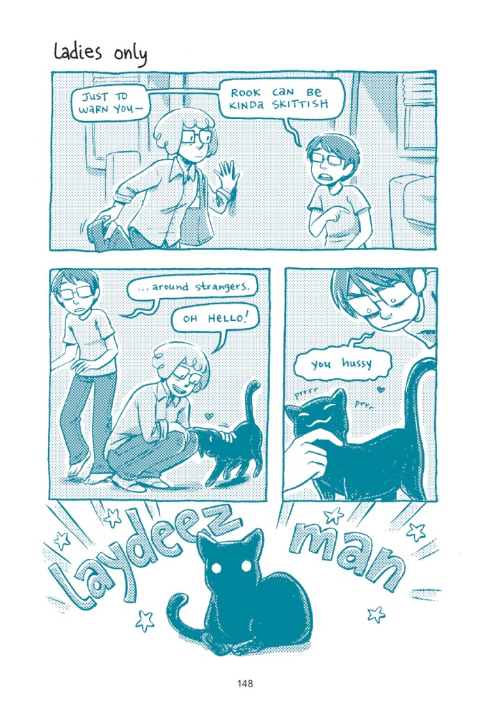 Oni Preview: Our Cats Are More Famous Than Us: A Johnny Wander Collection