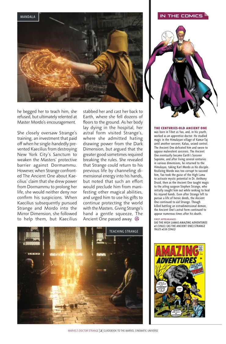 Marvel Preview: Guidebook to the Marvel Cinematic Universe - Marvel's Doctor Strange #1