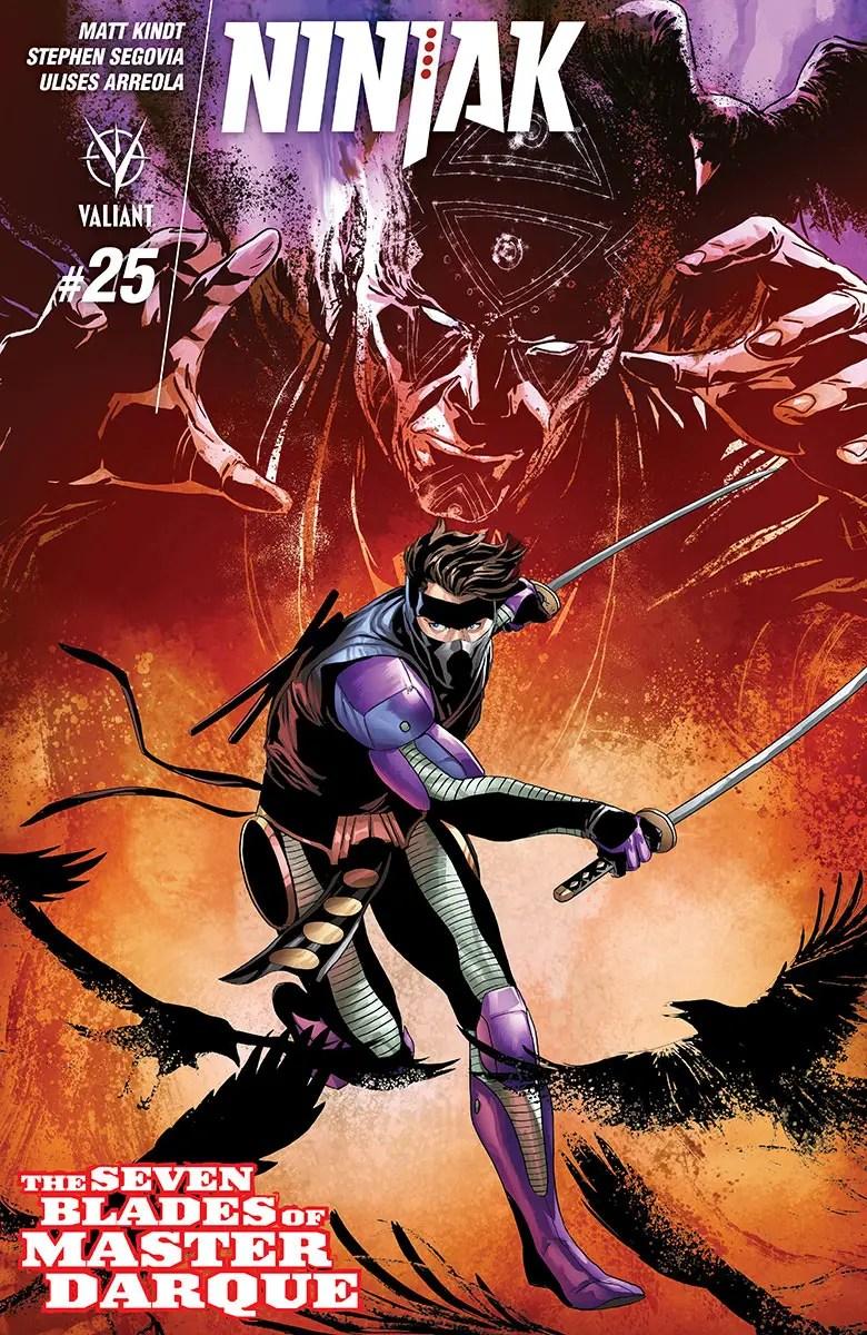 Ninjak #25 Review