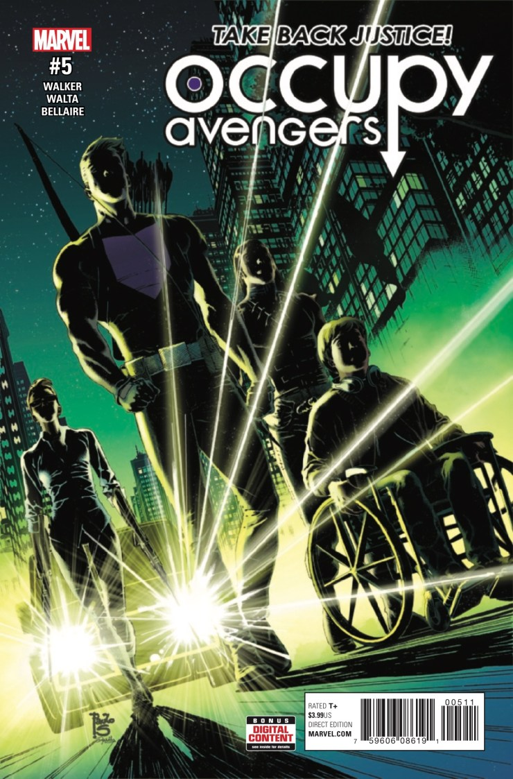 Marvel Preview: Occupy Avengers #5