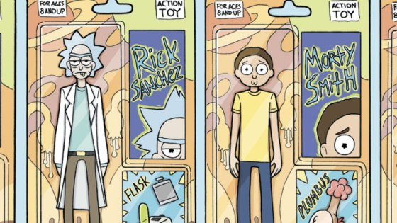 In Rick and Morty #24, Kyle Starks and Marc Ellerby tackle a done in one issue as Rick and Morty attempt to steal back a ghost spaceship! What could go wrong--and is it good?