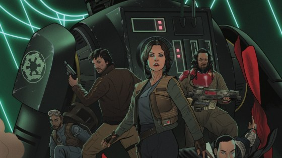 The Rebellion comes to Marvel Comics this spring as one of the biggest films of 2016 becomes one of the biggest comics of 2017! Today, Marvel is pleased to present your first look inside the STAR WARS: ROGUE ONE ADAPTATION #1 – the new series available wherever comics are sold on April 5th! Written by Jody Houser (Max Ride) with art by Emilio Laiso (Star Wars Annual) and Oscar Bazaldua (Gwenpool Holiday Special) , join the harrowing group of Rebels as they embark on a life or death mission to save the galaxy!