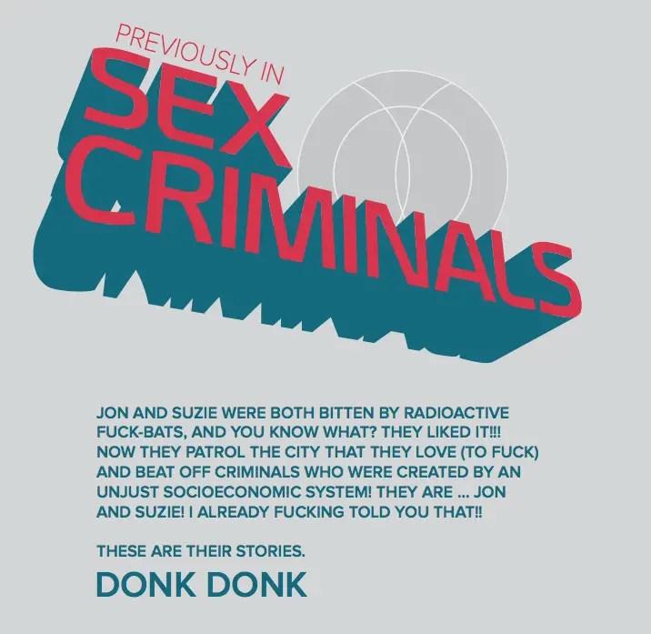 Sex Criminals #17 Review