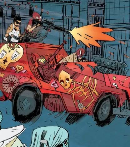 Helena Crash #1 Review