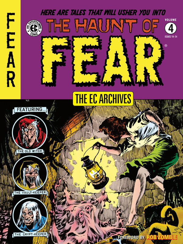 The EC Archives: The Haunt of Fear Vol. 4 Review