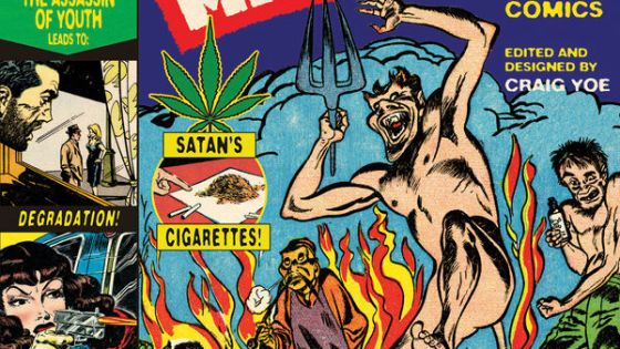 Reefer Madness editor Craig Yoe speaks to AiPT about weed, censorship, prohibition and how they all relate to comic book history.
