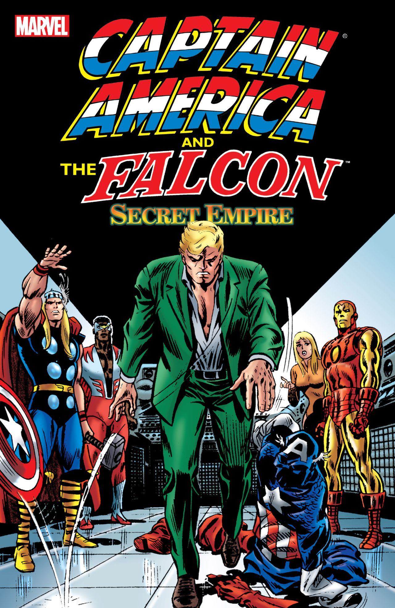 Captain America and the Falcon: Secret Empire Review