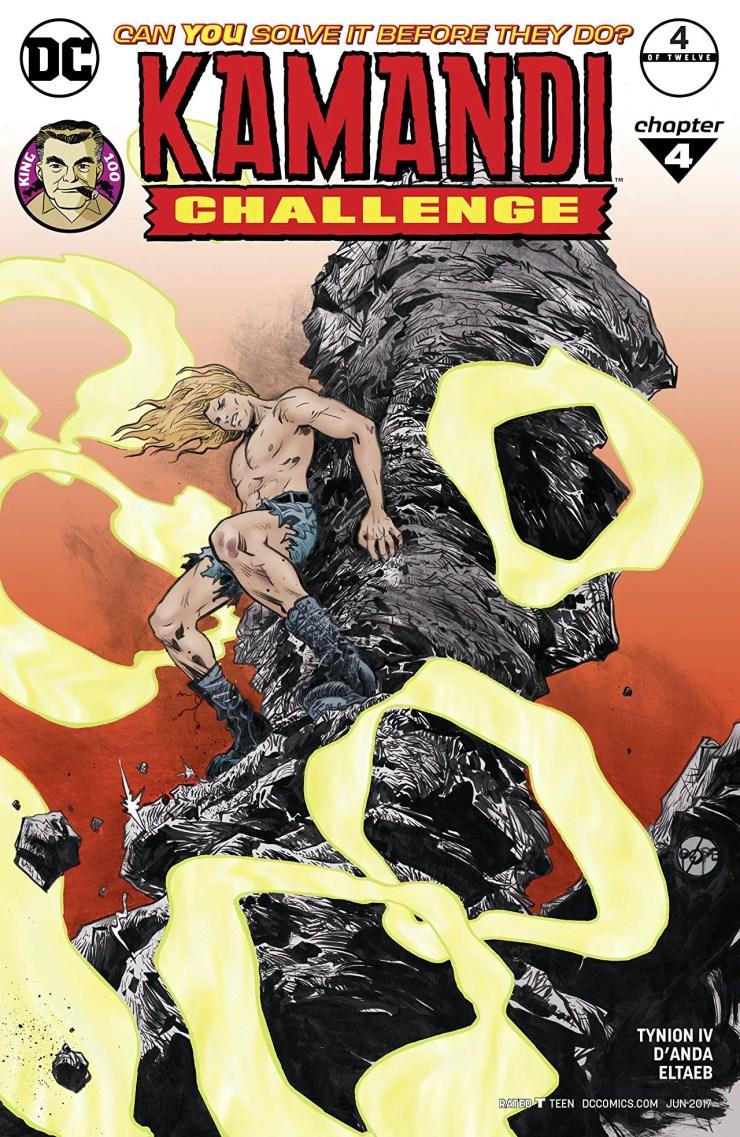 Kamandi Challenge #4 Review
