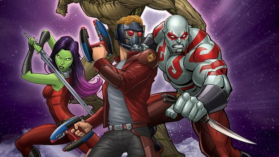 Marvel Comics had the clever idea of printing their cartoons, and after reading the latest volume I'm convinced it's a killer idea. Hear me out: the audio and animation is obviously gone, but the images are sharp and have that cartoony feel you already see in many comics today. Being the fifth volume, this digest-sized comic drops you into the middle of a story, but it's not hard to catch up and enjoy the ride.
