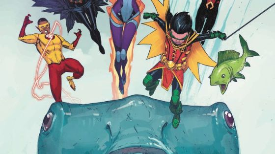 """""""The Rise of Aqualad"""" concludes in Teen Titans #7. Is this ending a satisfying one?"""