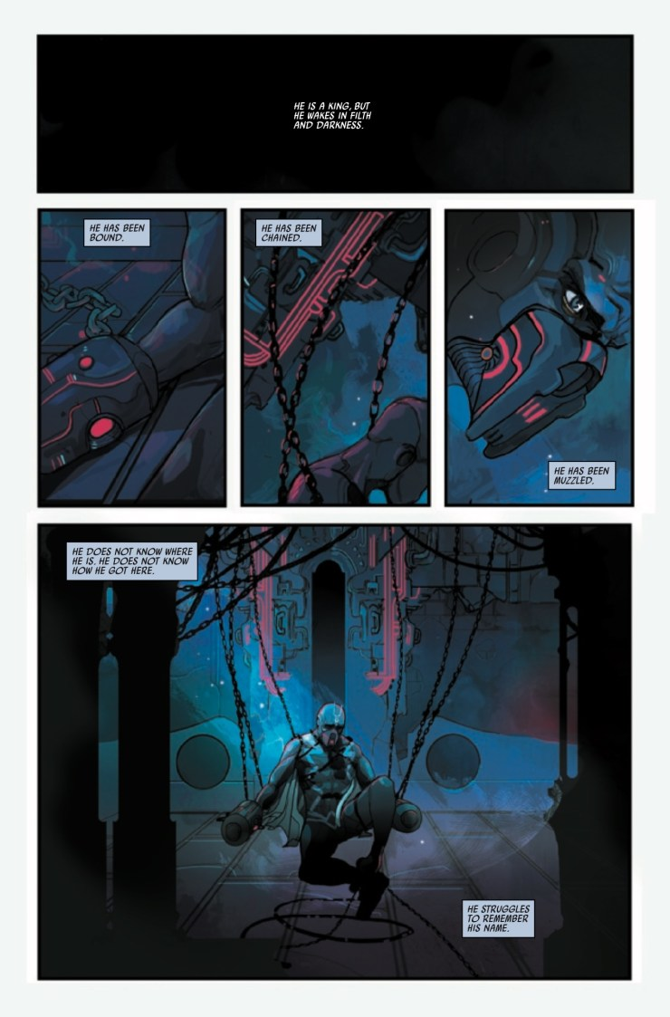 Marvel Preview: Black Bolt #1 [Lettered]