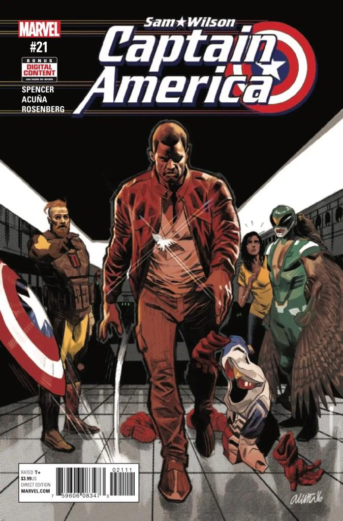 Marvel Preview: Captain America: Sam Wilson #21