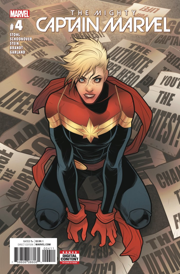The Mighty Captain Marvel #4 Review