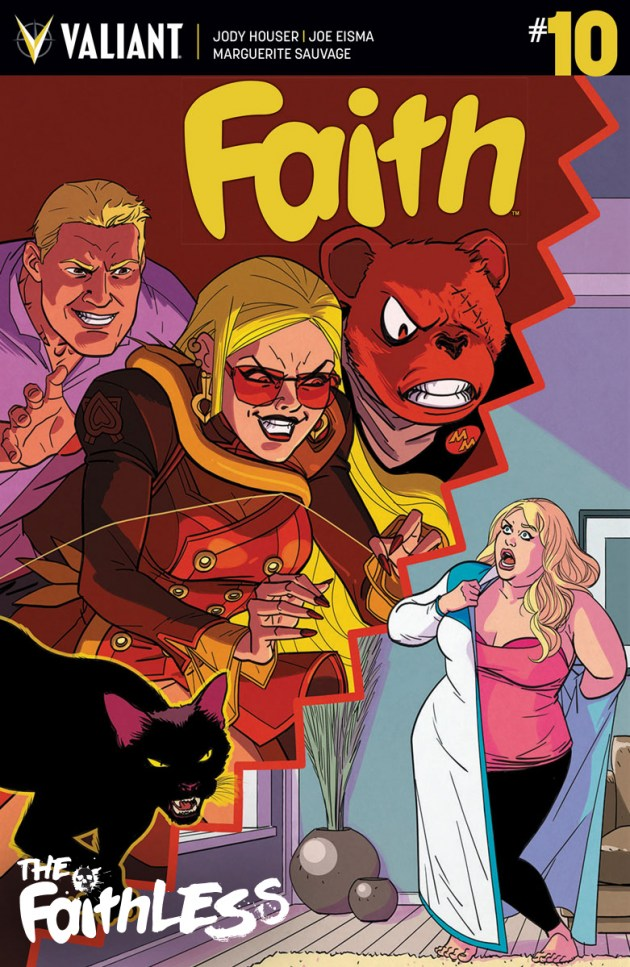 In the start of a new arc, Faith is facing her first ever villain team-up! Is it good?