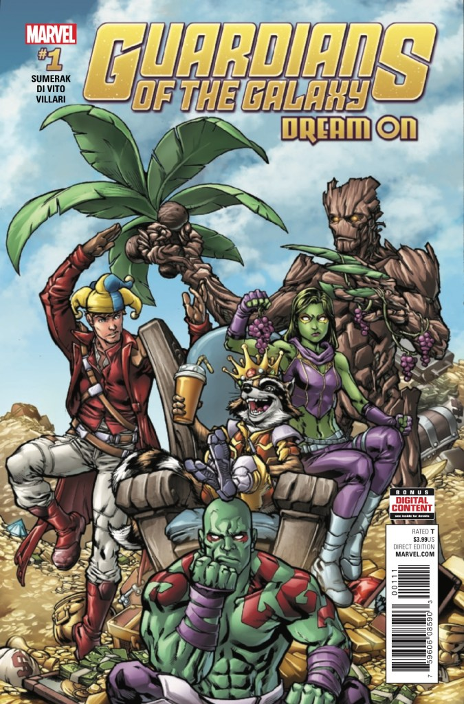 Guardians of the Galaxy: Dream On #1 Review