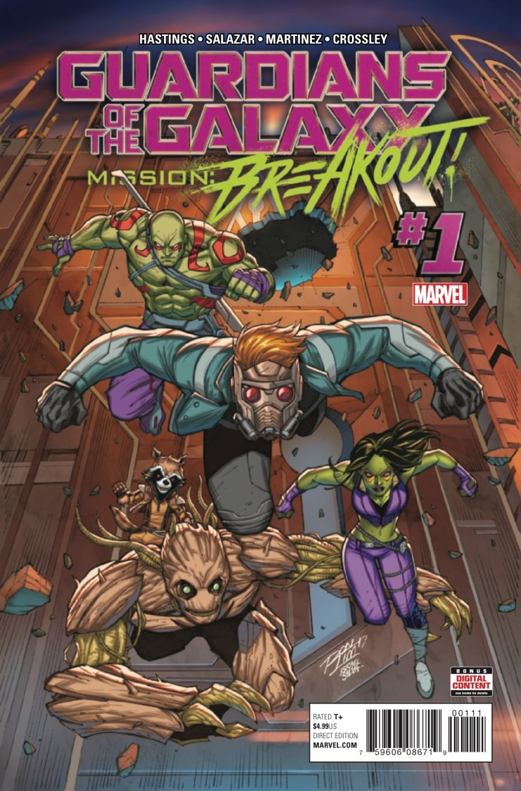 Marvel Preview: Guardians of the Galaxy: Mission Breakout #1