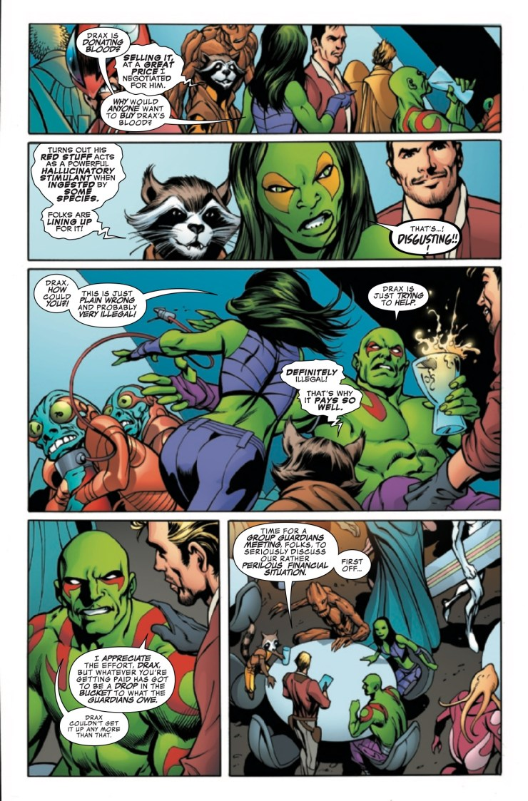 Marvel Preview: Guardians of the Galaxy: Mother Entropy #1