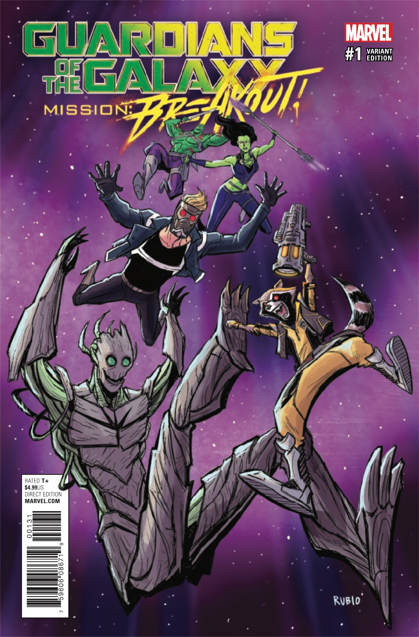 Guardians of the Galaxy: Mission Breakout #1 Review