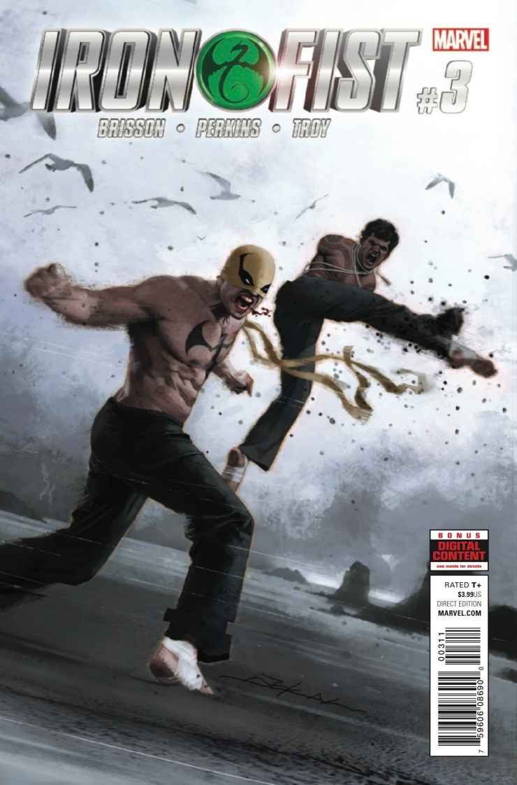 Marvel Preview: Iron Fist #3
