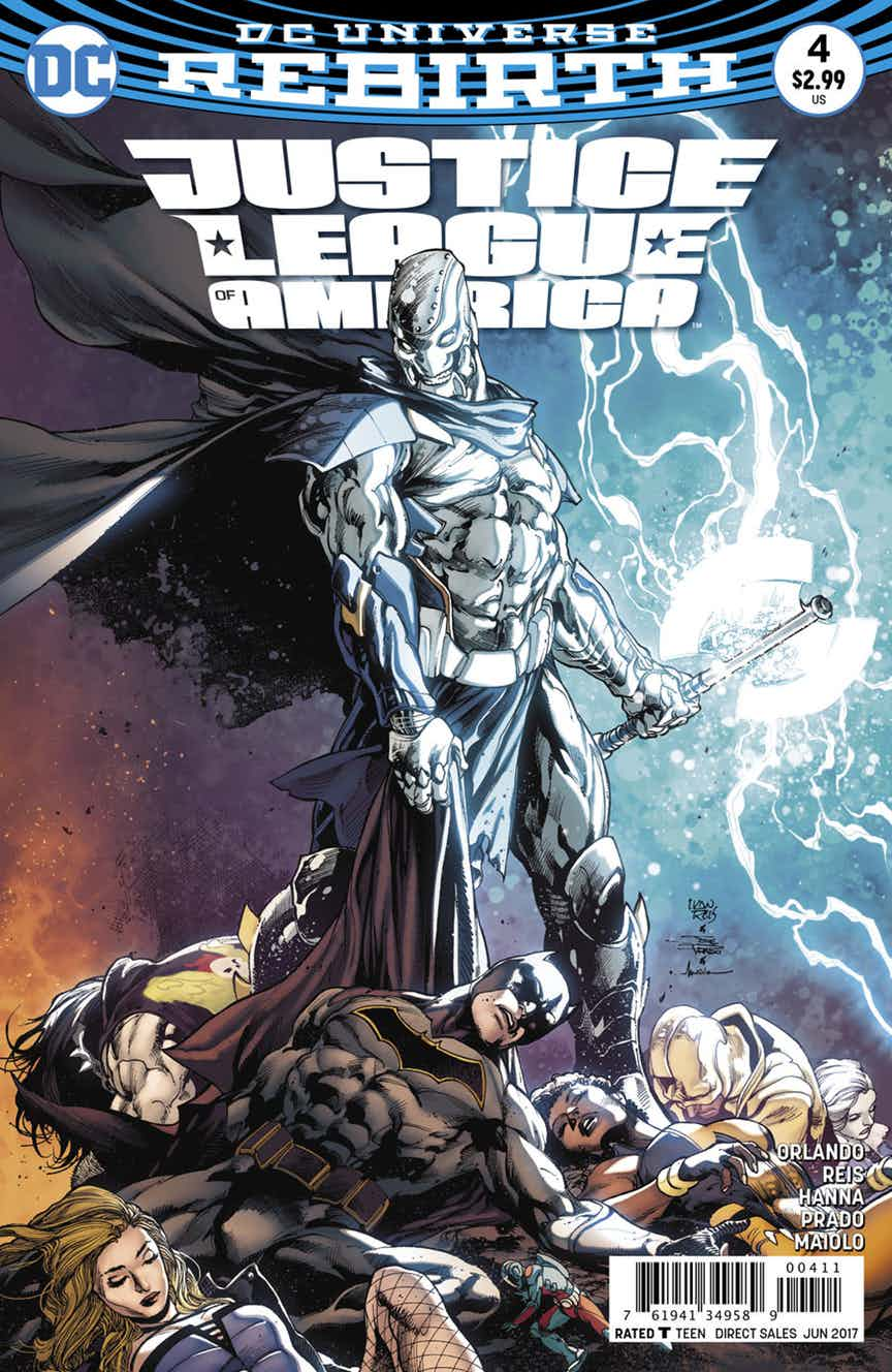 Justice League of America #4 Review