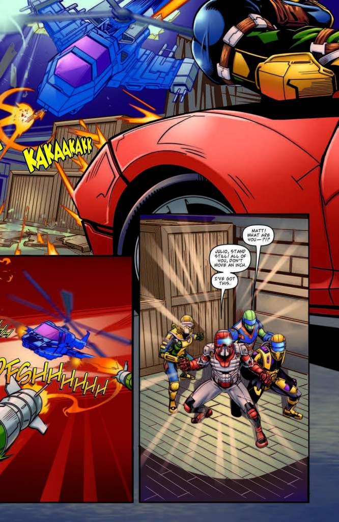 [EXCLUSIVE] IDW Preview: M.A.S.K.: Mobile Armored Strike Kommand #5