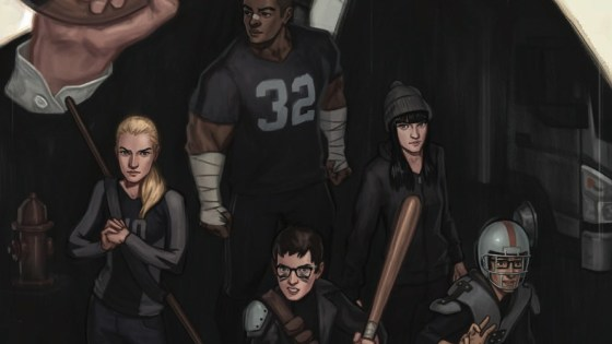 Night Owl Society #1 kicks off a story about a group of high school students taking on the mob. Is it good?