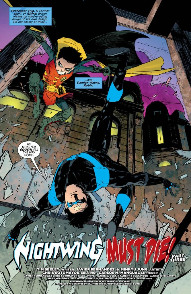 "The ""Nightwing Must Die!"" story arc continues with a third installment chock full of art history references, Deathwing acting sinister, and Dick Grayson having feelings. So, is it good?"