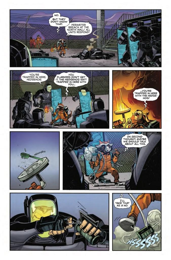 Marvel Preview: Rocket Raccoon #5