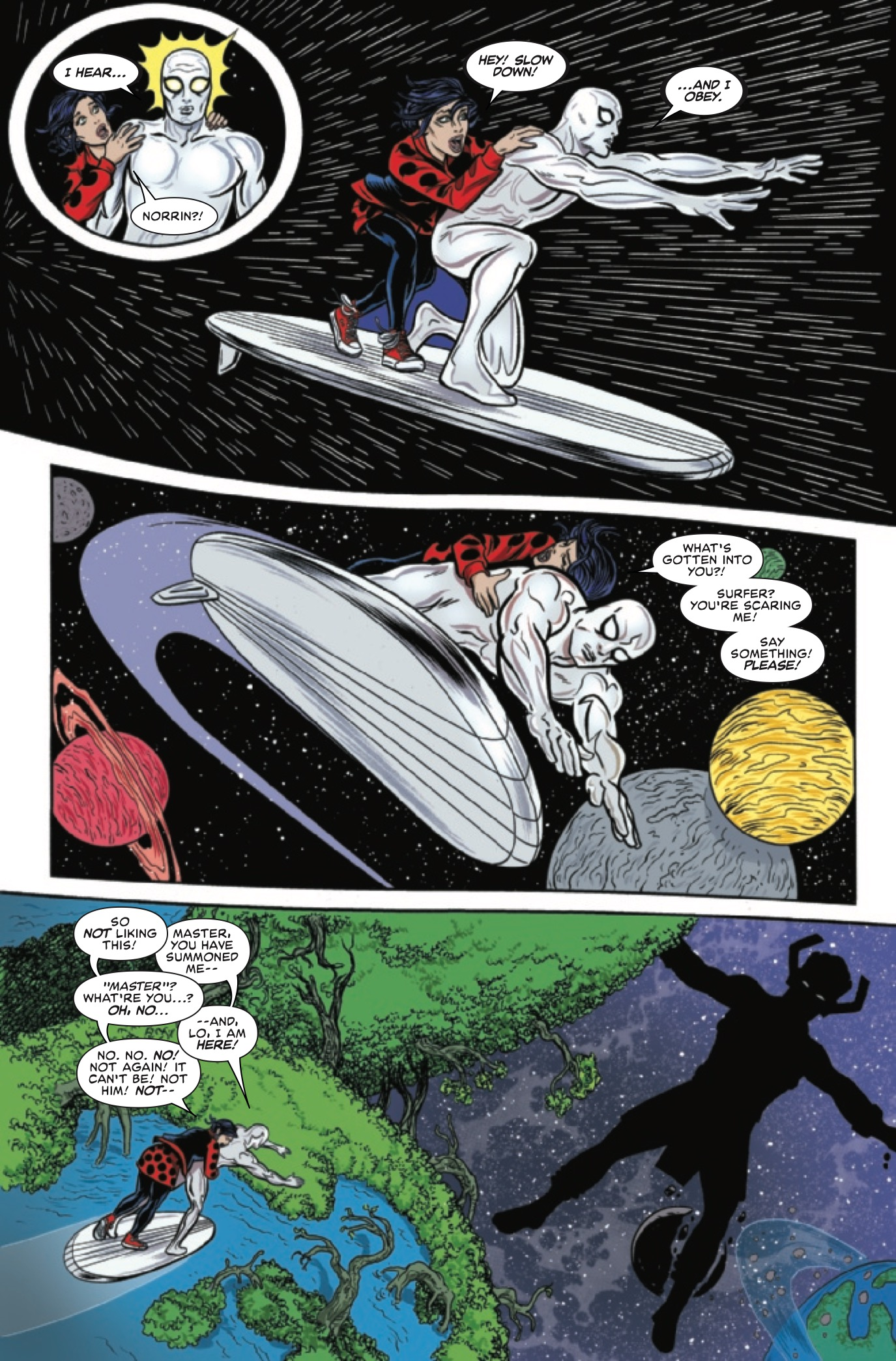 Silver Surfer #10 Review