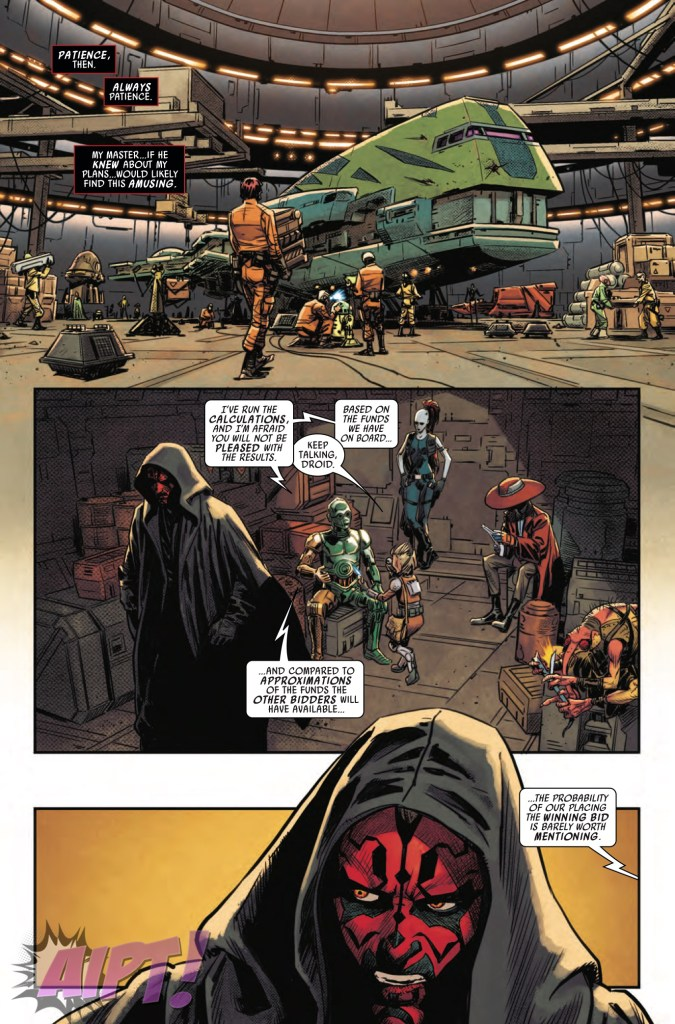 [EXCLUSIVE] Marvel Preview: Star Wars: Darth Maul #3
