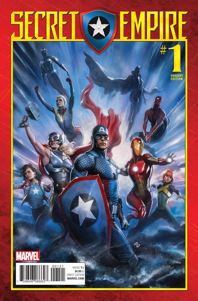 Marvel Preview: Secret Empire #1