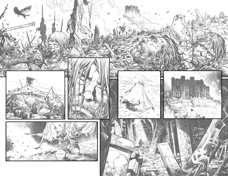 AfterShock Preview: Unholy Grail #1