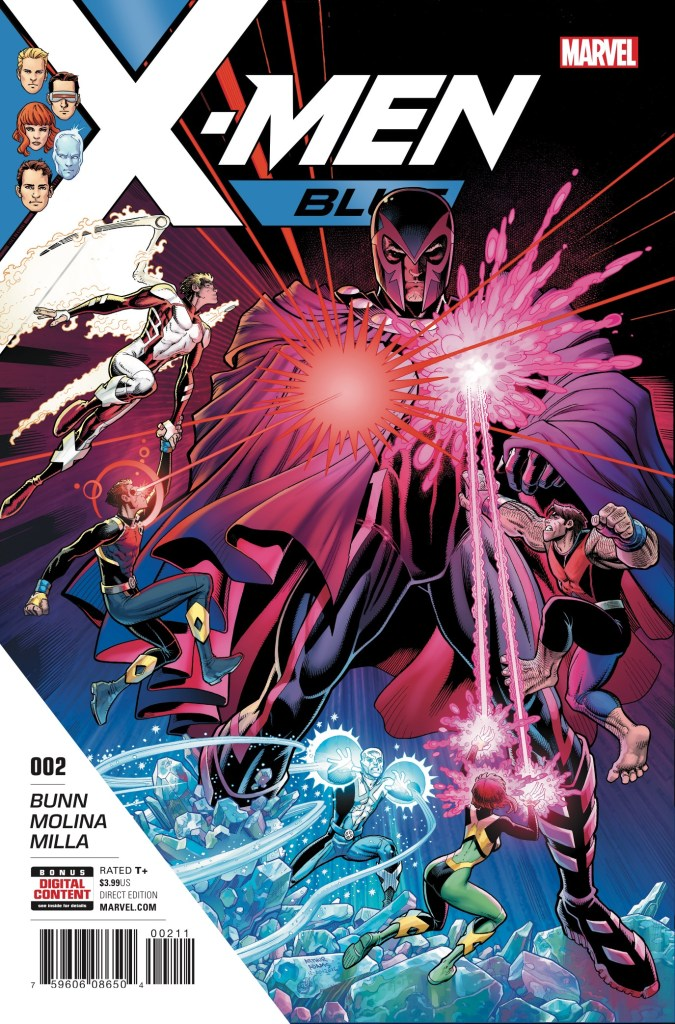 Marvel Preview: X-Men: Blue #2