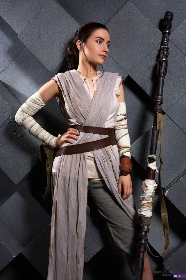 Star Wars: Rey Cosplay by Narga-Lifestream
