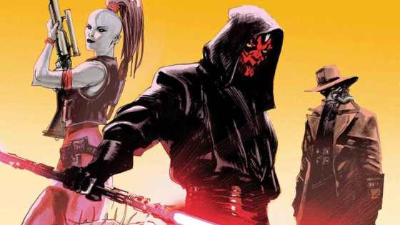 An evil crime syndicate is auctioning off a Jedi Padawan…that Darth Maul plans to take — and kill — for his own. Featuring: a band of bounty hunters including Cad Bane and Aurra Sing!