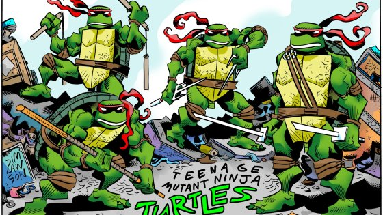 "Longtime Teenage Mutant Ninja Turtles fans are no doubt familiar with the work of writer and artist Jim Lawson. Penciling the original series' ""Return to New York"" storyline and creating the Rat King are among his many contributions to TMNT lore."