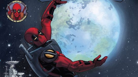 DEADPOOL GOES TO SPACE! Things aren't great in Deadpool's life recently, but he thinks he might know a solution…one found in the inky blackness of deepest, darkest outer space! Man, when Deadpool gets away from it all, he doesn't fool around! This issue features ONE MASSIVE 80-PAGE STORY by Gerry Duggan and Mike Hawthorne taking Deadpool to the edge of the Marvel Cosmos and back! It's practically an OGN! WE MUST BE OUT OF OUR MINDS!