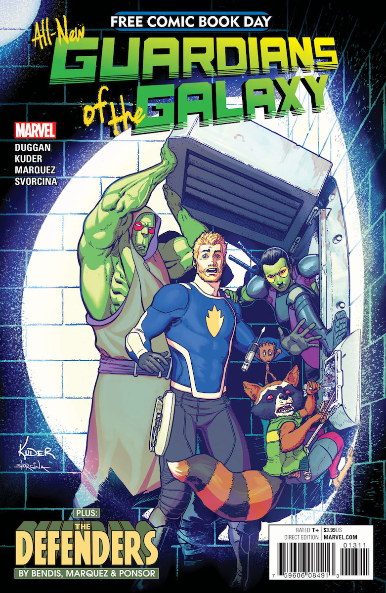 Free Comic Book Day: All-New Guardians of the Galaxy/Defenders #1 Review