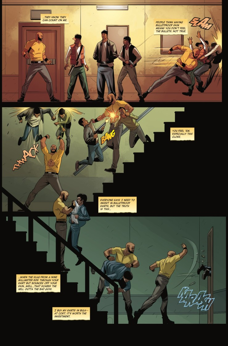 Luke Cage #1 Review