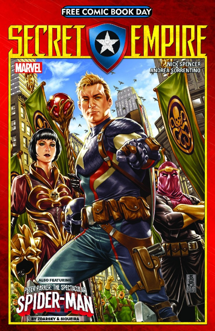 Free Comic Book Day: Secret Empire/Spectacular Spider Man #1 Review