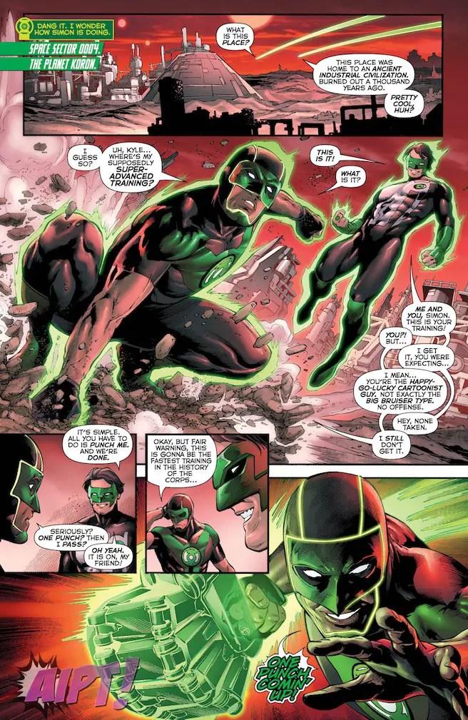 Green Lanterns #23 Review